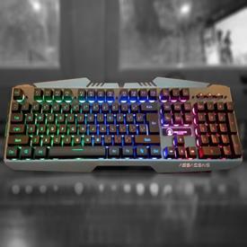 Bàn phím chuyên game Assassins AK8000 LED RGB