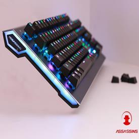 Bàn phím cơ quang học chuyên game Assassins GK7 RGB