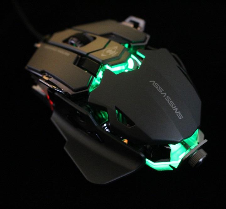 Chuột máy tính chuyên game Assassins G500
